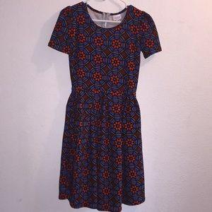 LuLaRoe Amelia Dress Size XS